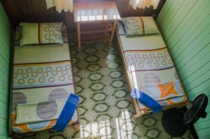 private twin room casa de las palmas hostel