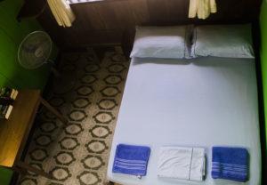 casa de las palmas hostel double bed room wiew