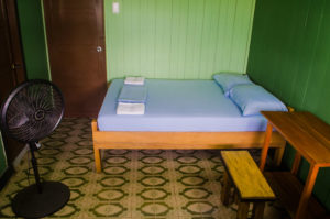 casa de las palmas hostel double bed room wiew
