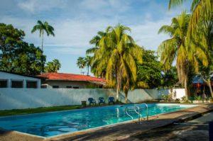 casa de las palmas hostel pool