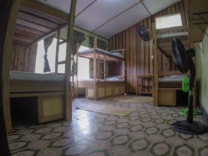 casa de las palmas hostel dorm room