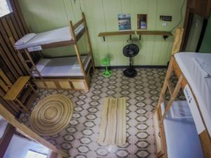 casa de las palmas hostel dorm 3